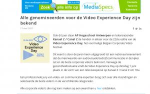 Mediaspecs bericht website